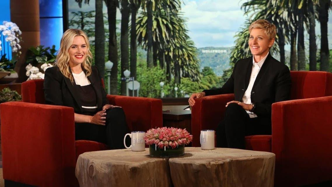 كيت وينسلت إيلين ديجنيريس  Kate Winslet Ellen DeGeneres