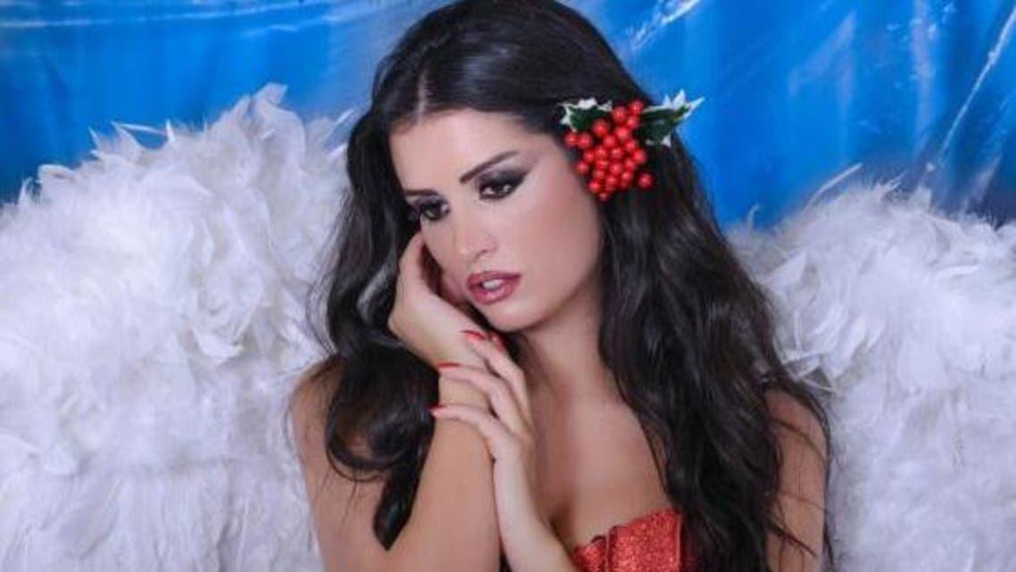 الممثلة اللبنانية أن ماري سلامة