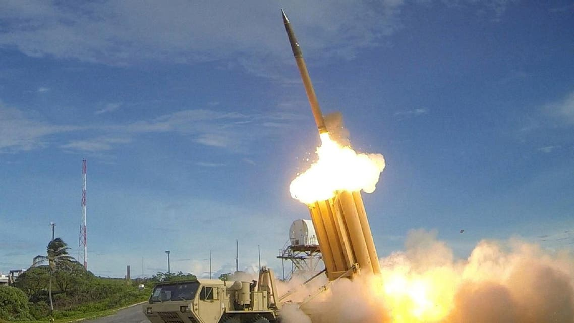 THAAD interceptor is launched during a successful intercept test. (File photo: Reuters)