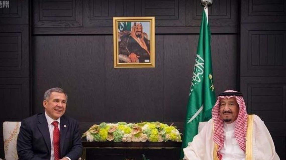 """الملك سلمان يوافق على تنظيم اجتماع """"روسيا - العالم الإسلامي"""""""