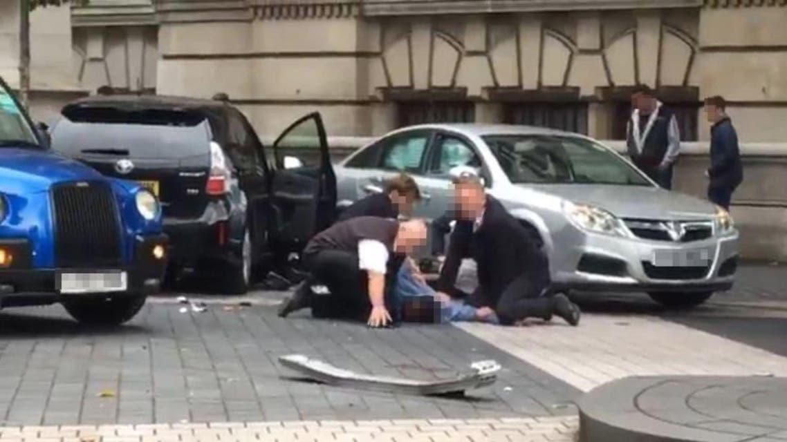 حادث دهس لندن