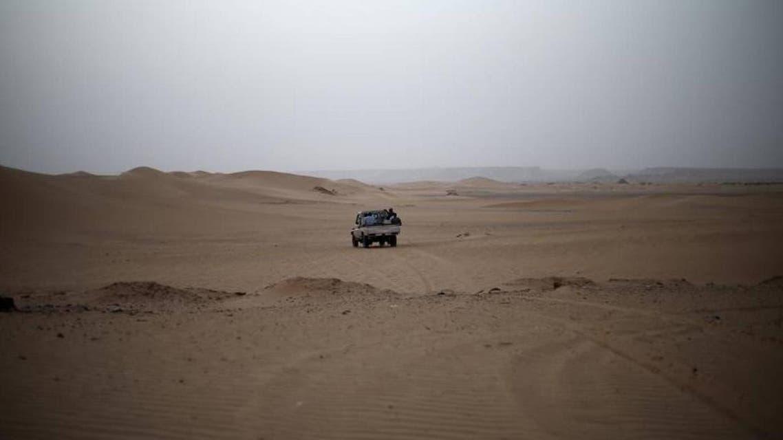 egypt libya desert reuters