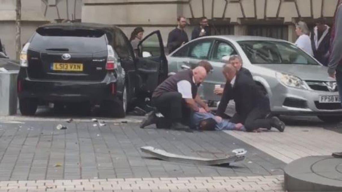 حادثة دهس في لندن