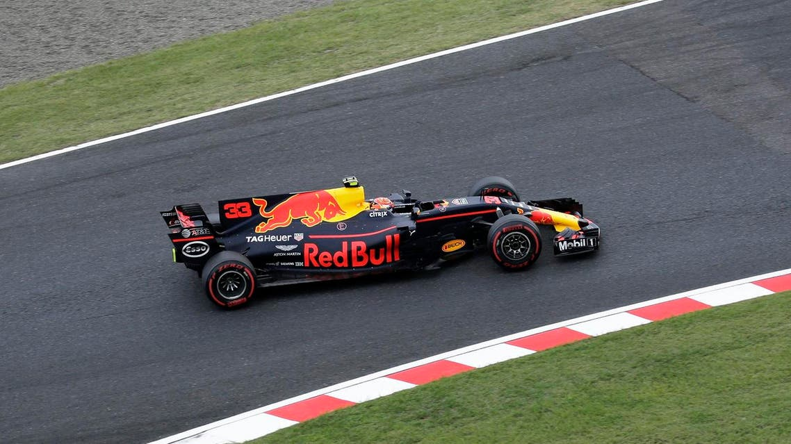 Red Bull's Dutch driver Max Verstappen drives during the qualifying session of the Formula One Japanese Grand Prix at Suzuka on October 7, 2017. (AFP)