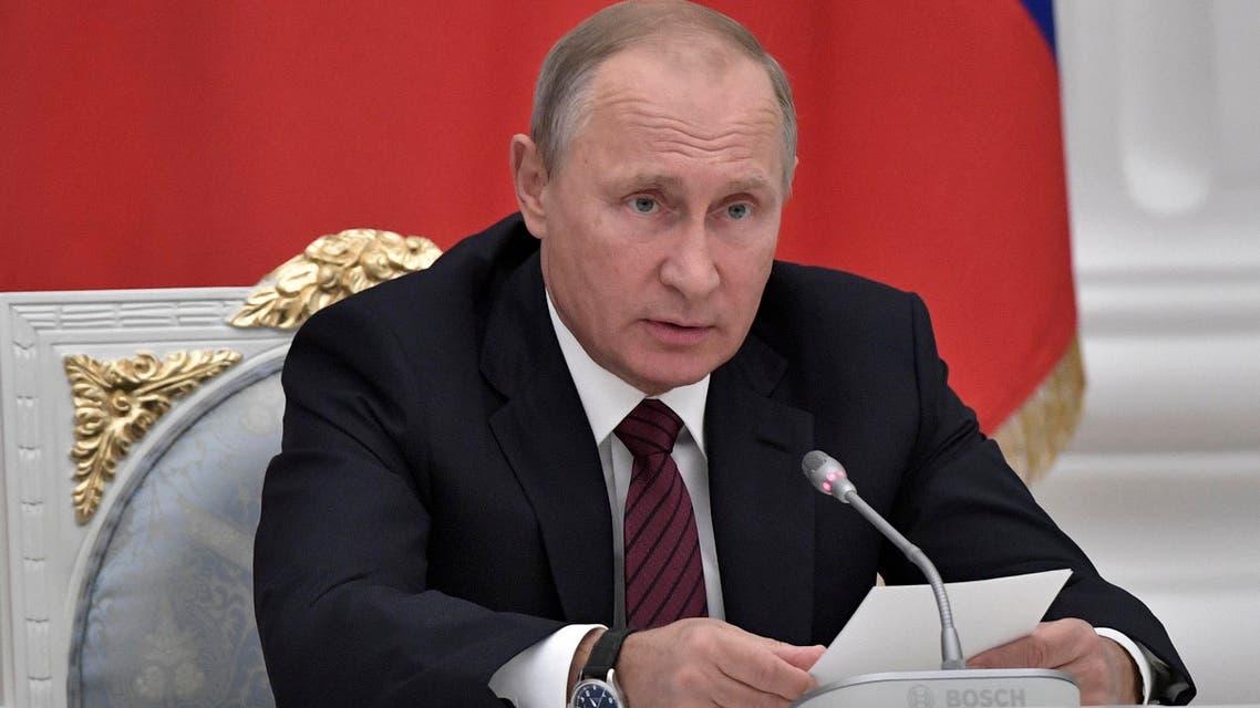 Russia's President Vladimir Putin reuters