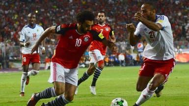 محمد صلاح يؤهل مصر إلى كأس العالم 2018
