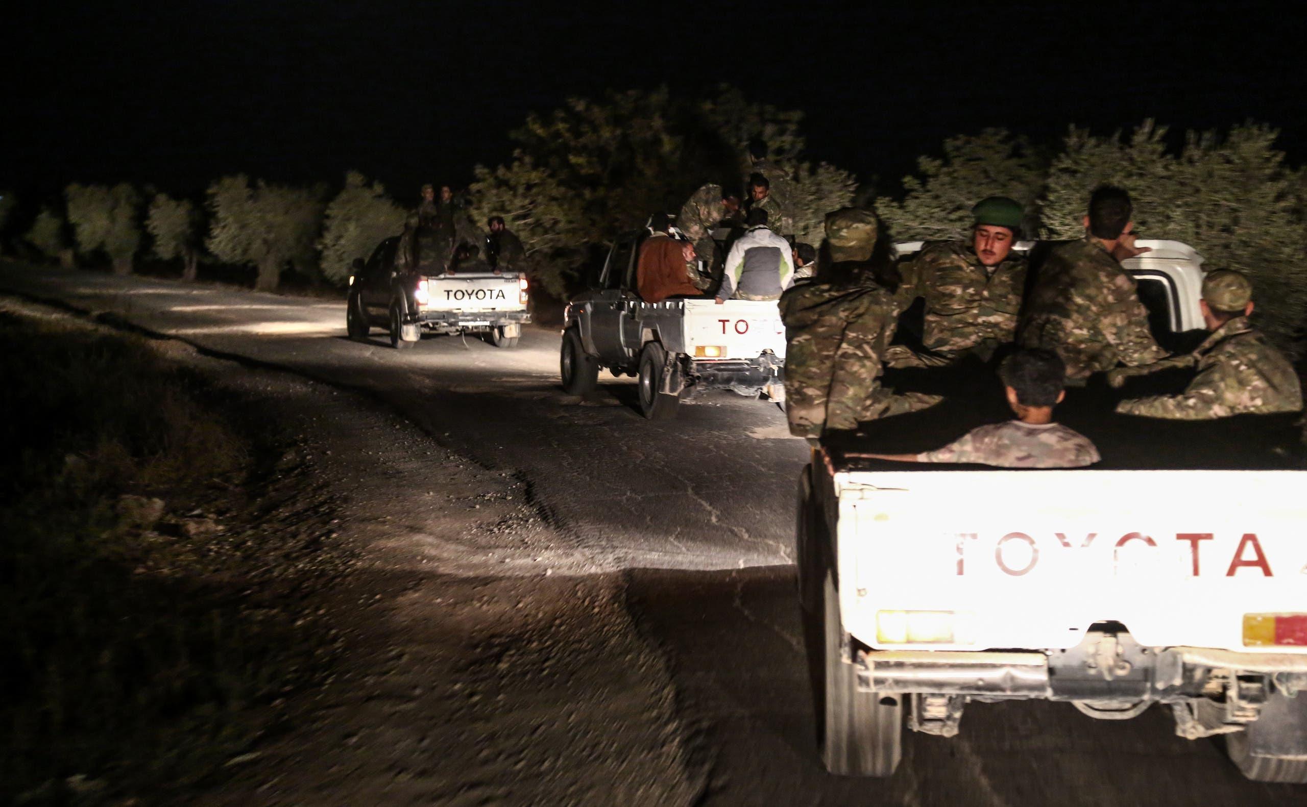 قوات من المعارضة السورية المدعومة من تركيا تقترب من مناطق سيطرة المتطرفين في إدلب (أرشيفية)