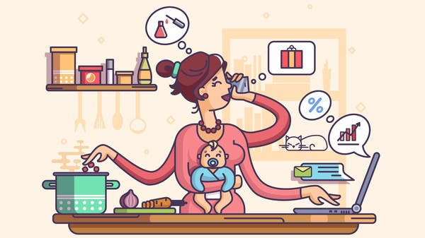 Being a mom is equivalent to 2.5 jobs: How to work hard, relax hard! | Al Arabiya English