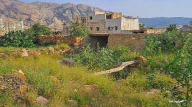 صور خلابة لبيوت الجنوب السعودي فوق قمم الجبال