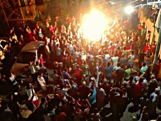 الإحتفالات في قرية صلاح