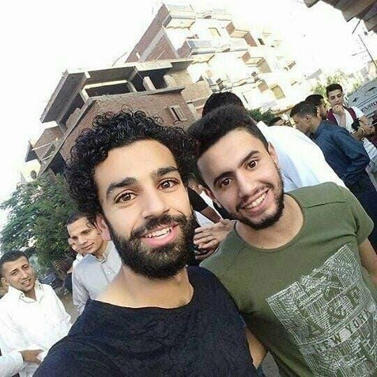 محمد صلاح في قريته
