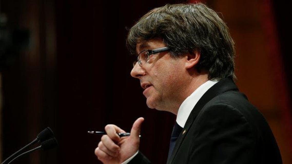رئيس كتالونيا، كارليس بوتشيمون،