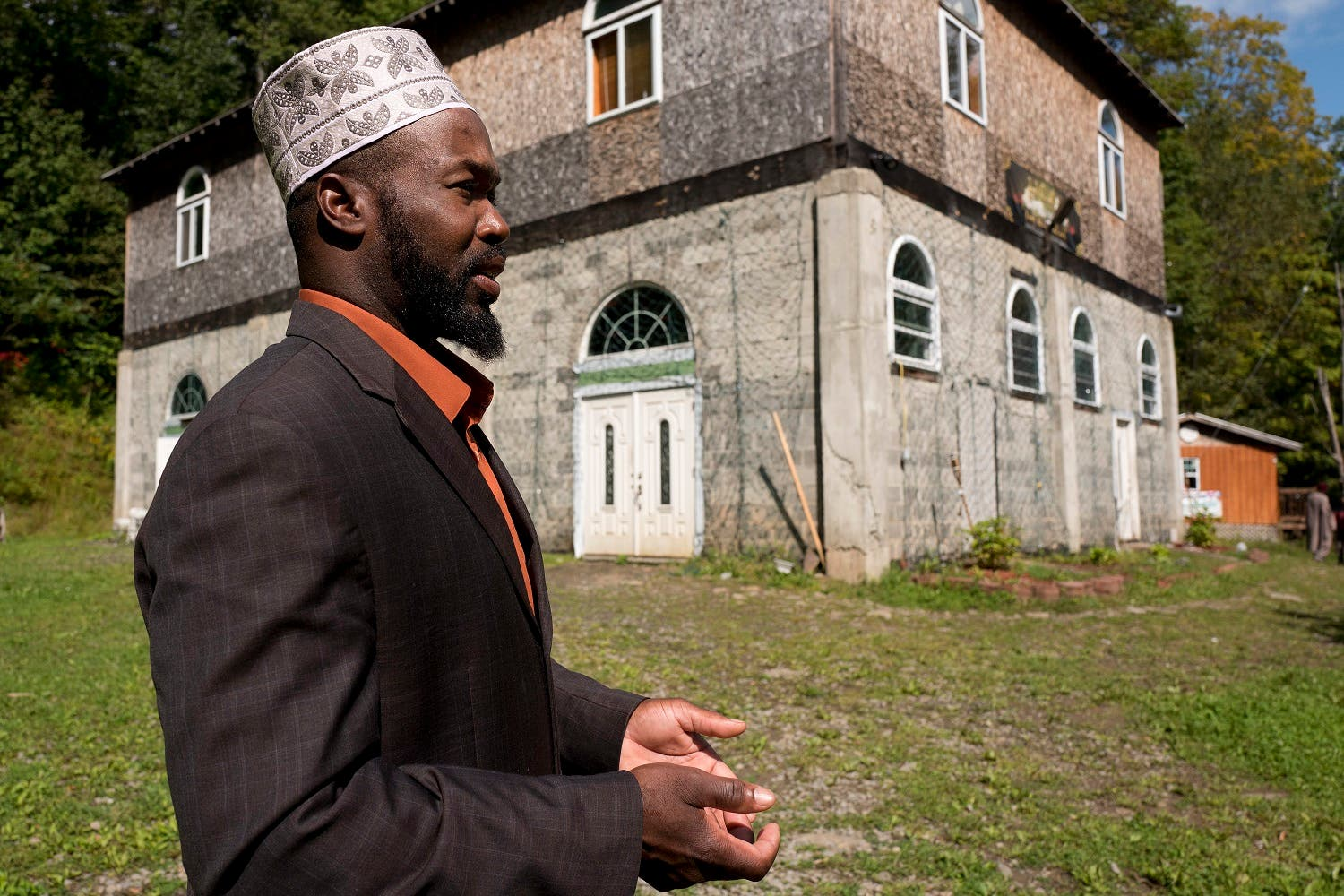 'Terrorist label' frustrates US Muslim community in the woods