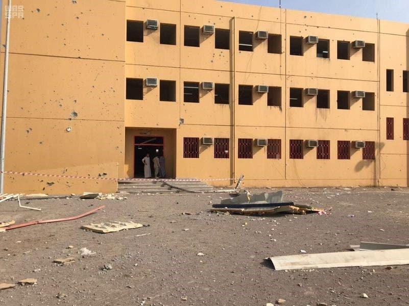 Houthi militias fire missile at a school in Saudi Arabia's Jazan region