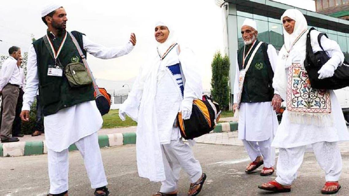 Indian Hajj pilgrims. ( Courtesy: Saudi Gazette)
