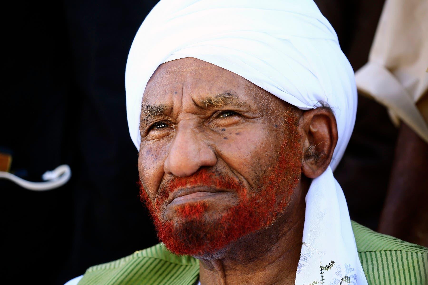 Sadiq al mahdi (AFP)