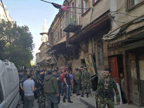 """""""داعش"""" يتبنى هجوماً إنتحارياً على مقر للشرطة وسط دمشق"""