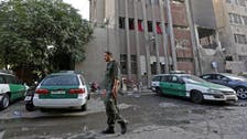 Triple suicide attack near Damascus police HQ: Ministry