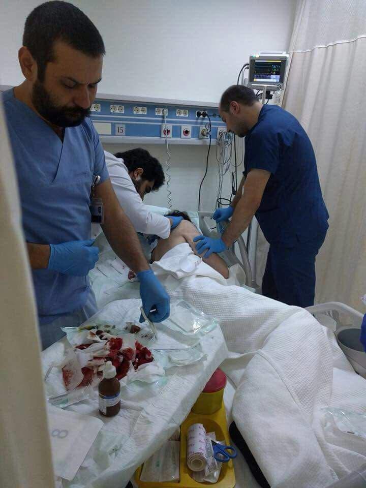 المخرج السوري محمد بايزيد في المستشفى