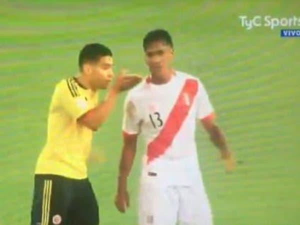 اتهام فالكاو بالتلاعب بنتيجة كولومبيا وبيرو