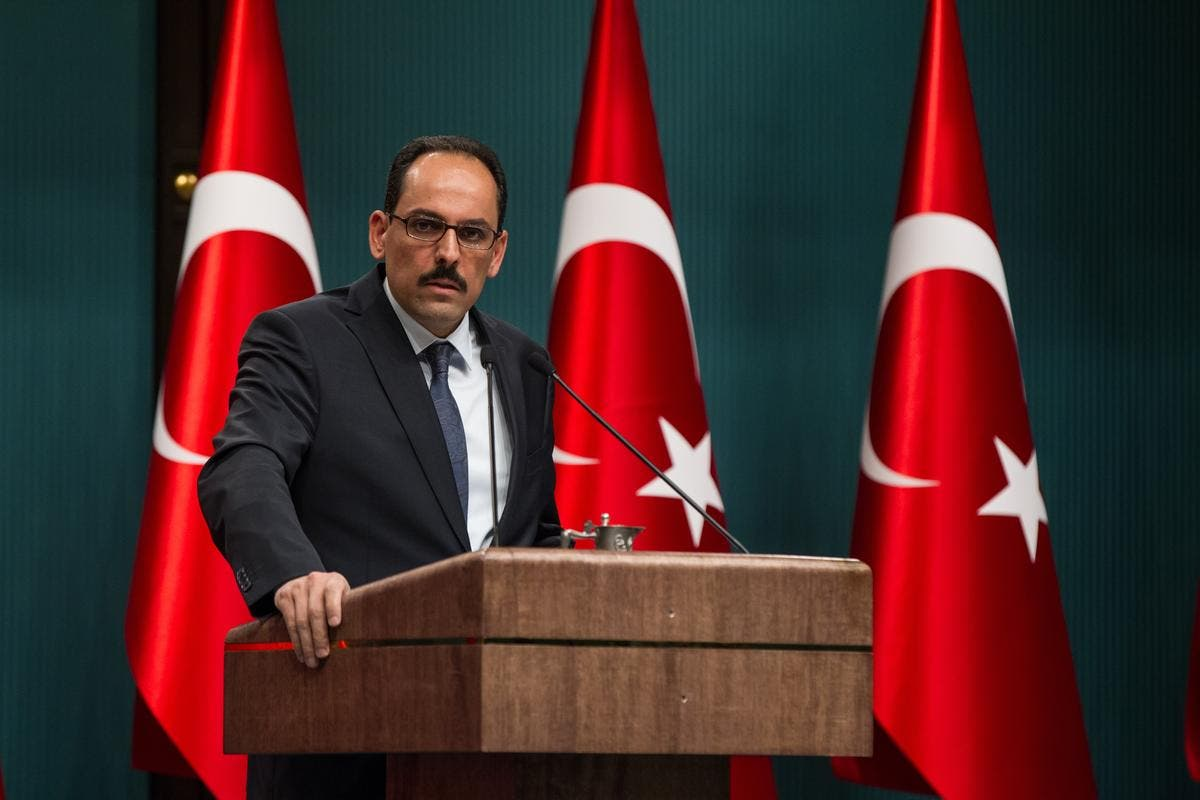 إبراهيم كالين المتحدث باسم الرئيس التركي