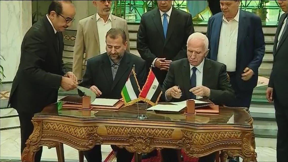 THUMBNAIL_ #فتح و #حماس .. تبرمان اتفاق المصالحة في القاهرة