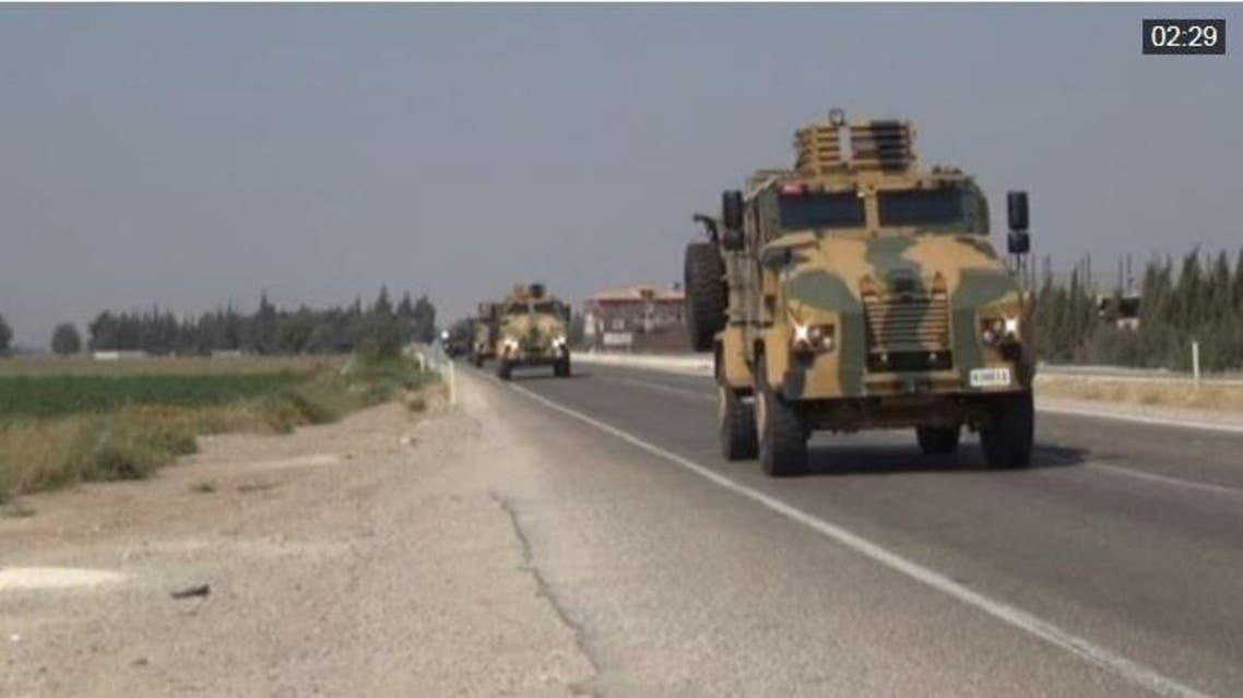 آليات تابعة للجيش التركي على حدود العراق 3