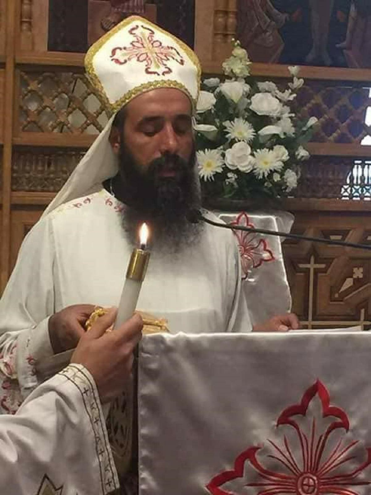 Samaan Shehta was a Coptic priest of a church in Egypt's governorate of Beni Suef. (Supplied)