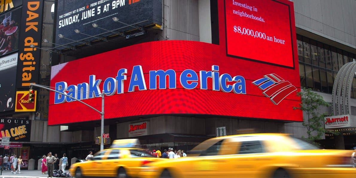 Bank of America (File photo)