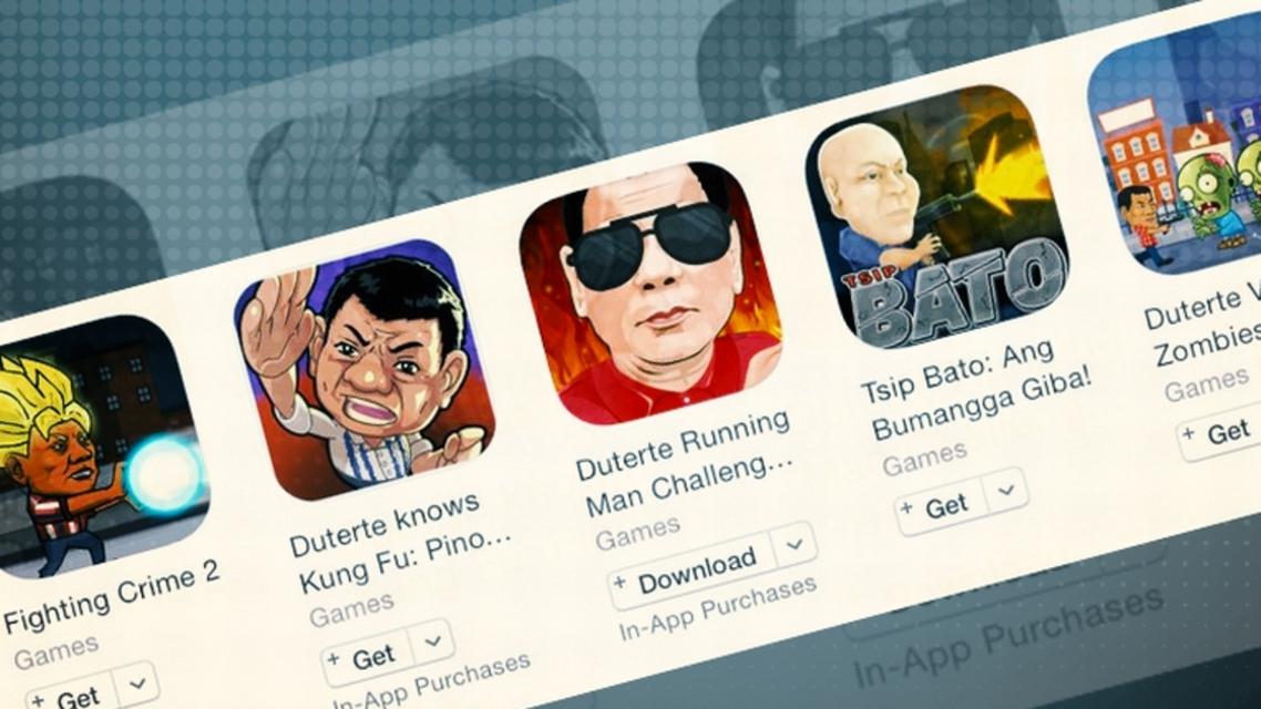 مطالبات لآبل بحذف ألعاب تحاكي حرب الفلبين على المخدرات