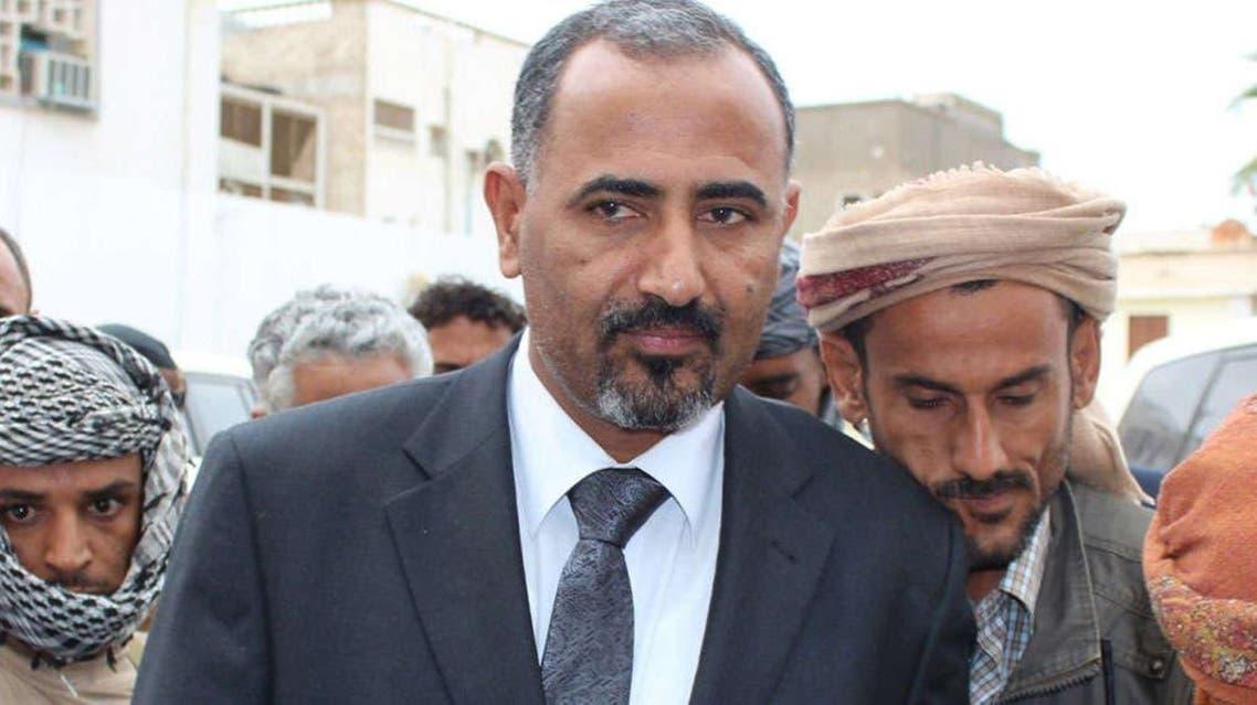 محافظ عدن السابق عيدروس الزبيدي