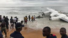 Four dead, six injured in cargo plane crash off Ivory Coast after takeoff
