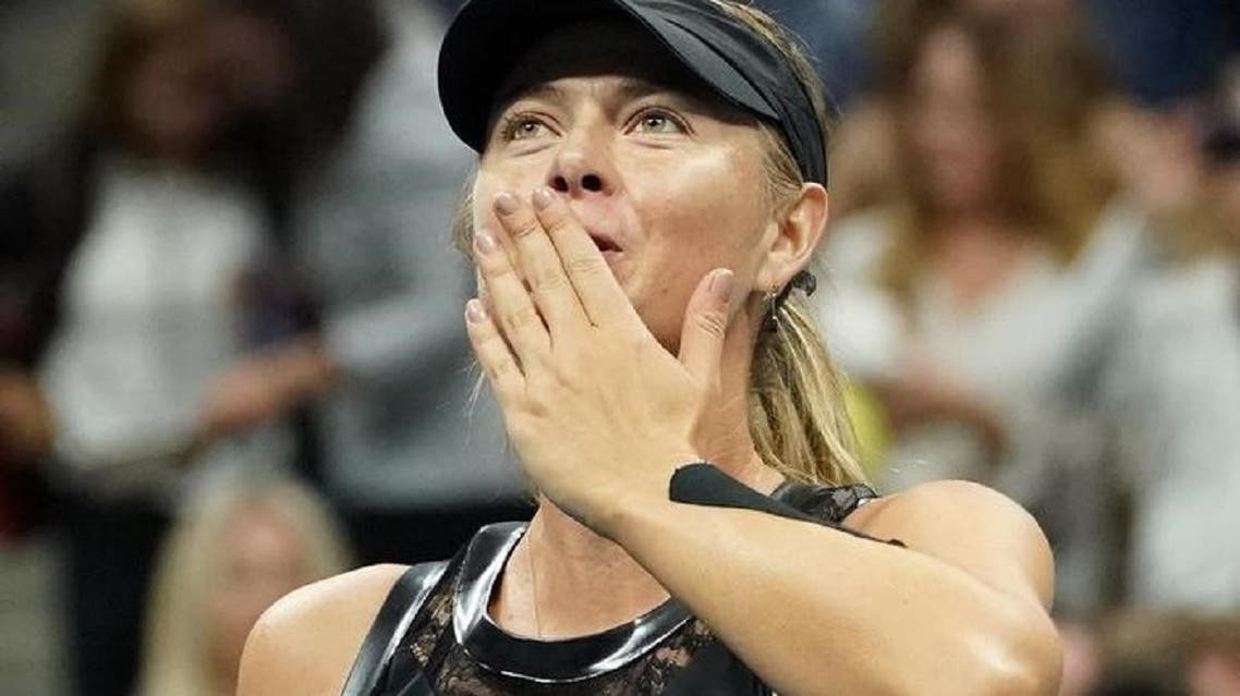 Russian Maria Sharapova after winning the US Open in New York on September 1, 2017. (Reuters/USA Today)
