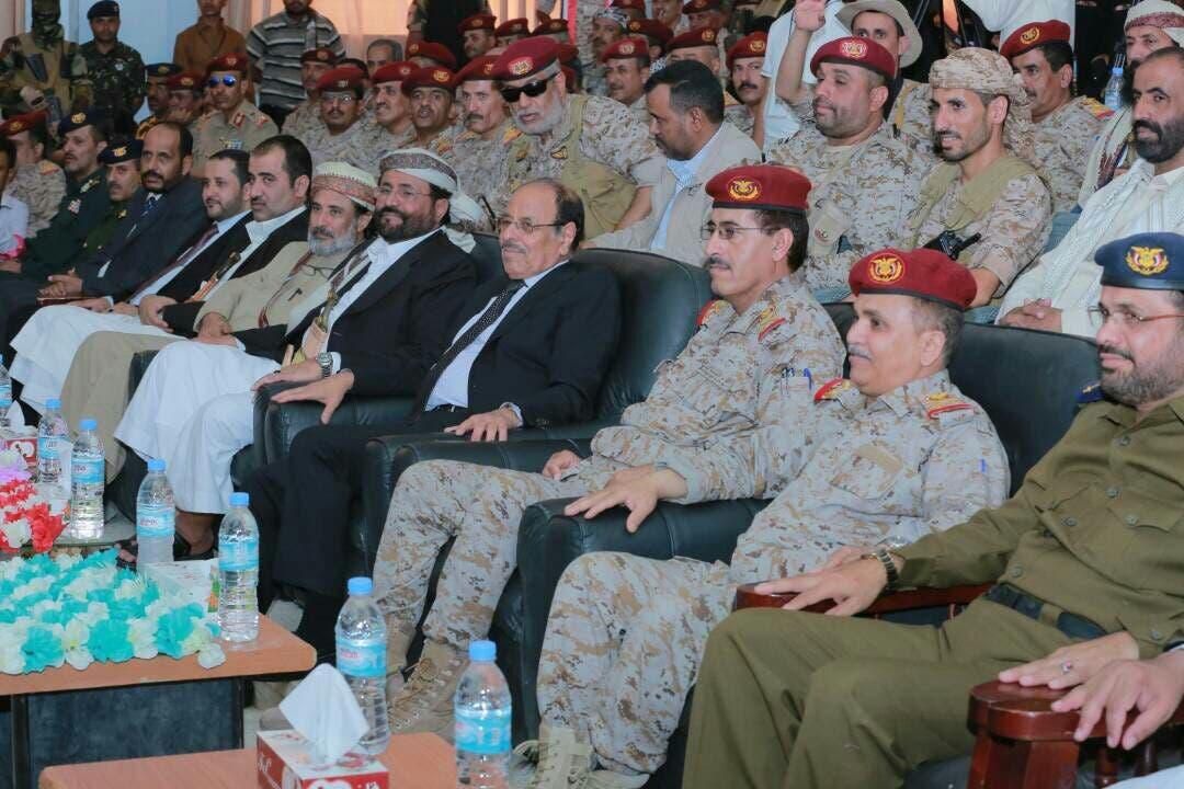 نائب الرئيس اليمني في الحفل بمأرب