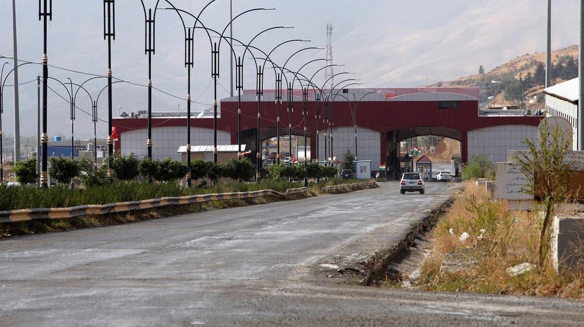 Haj Omran border is seen, on the border between Iran and Kurdistan, Iraq October 3, 2017. (Reuters)