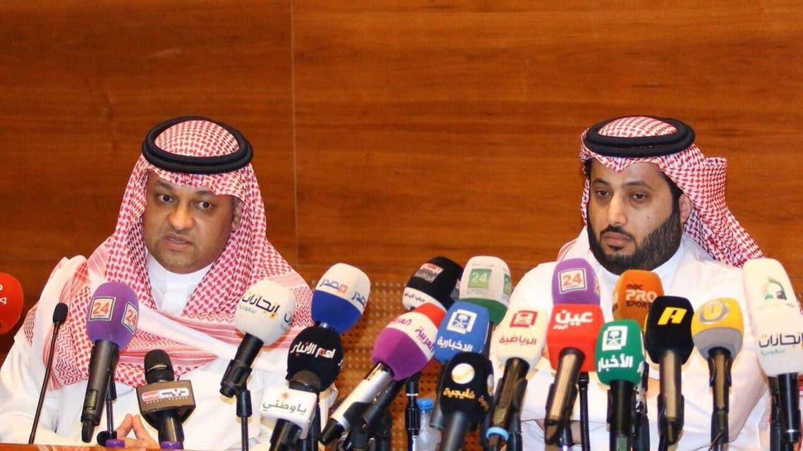 تركي آل الشيخ عادل عزت