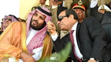 سعودی ولی عہد اور صدرالسیسی میں ٹیلی فون پربات چیت
