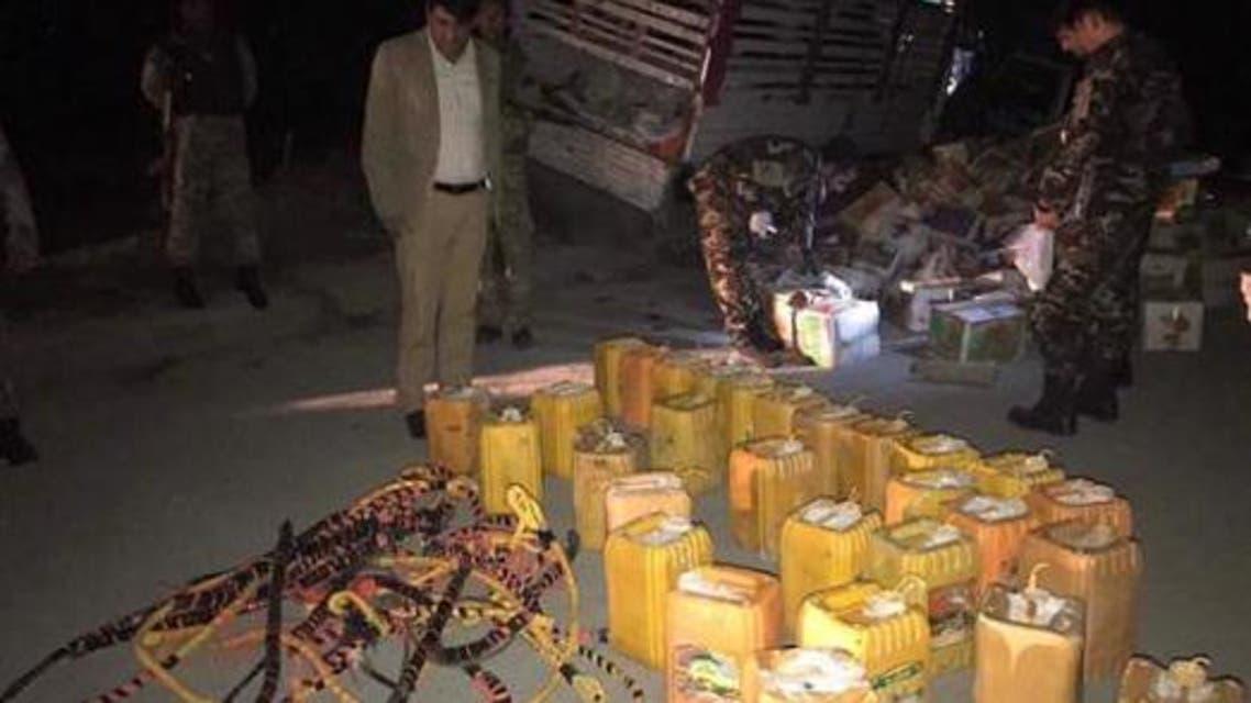 پولیس کابل از یک انفجار بزرگ در این شهر جلوگیری کرد