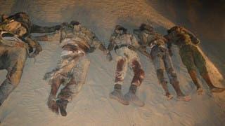 عدد من جثث عناصر داعش سيناء الذين قتلوا خلال العملية