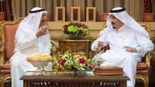 الرياض.. الملك سلمان وأمير الكويت يبحثان أوضاع المنطقة