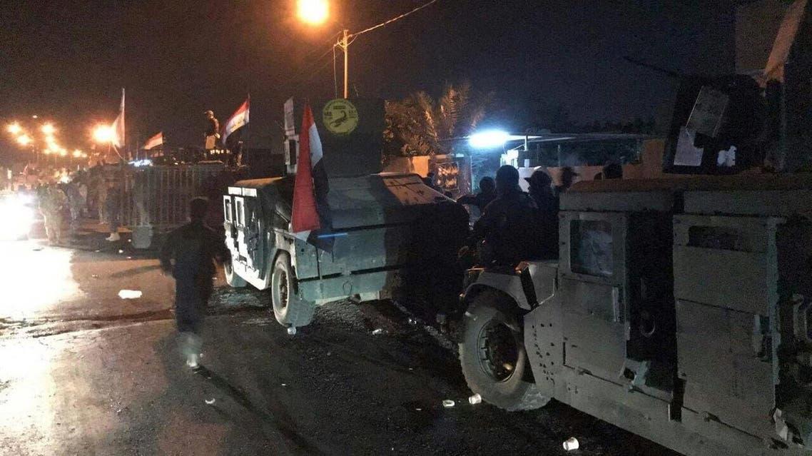 تقدم القوات العراقية باتجاه كركوك
