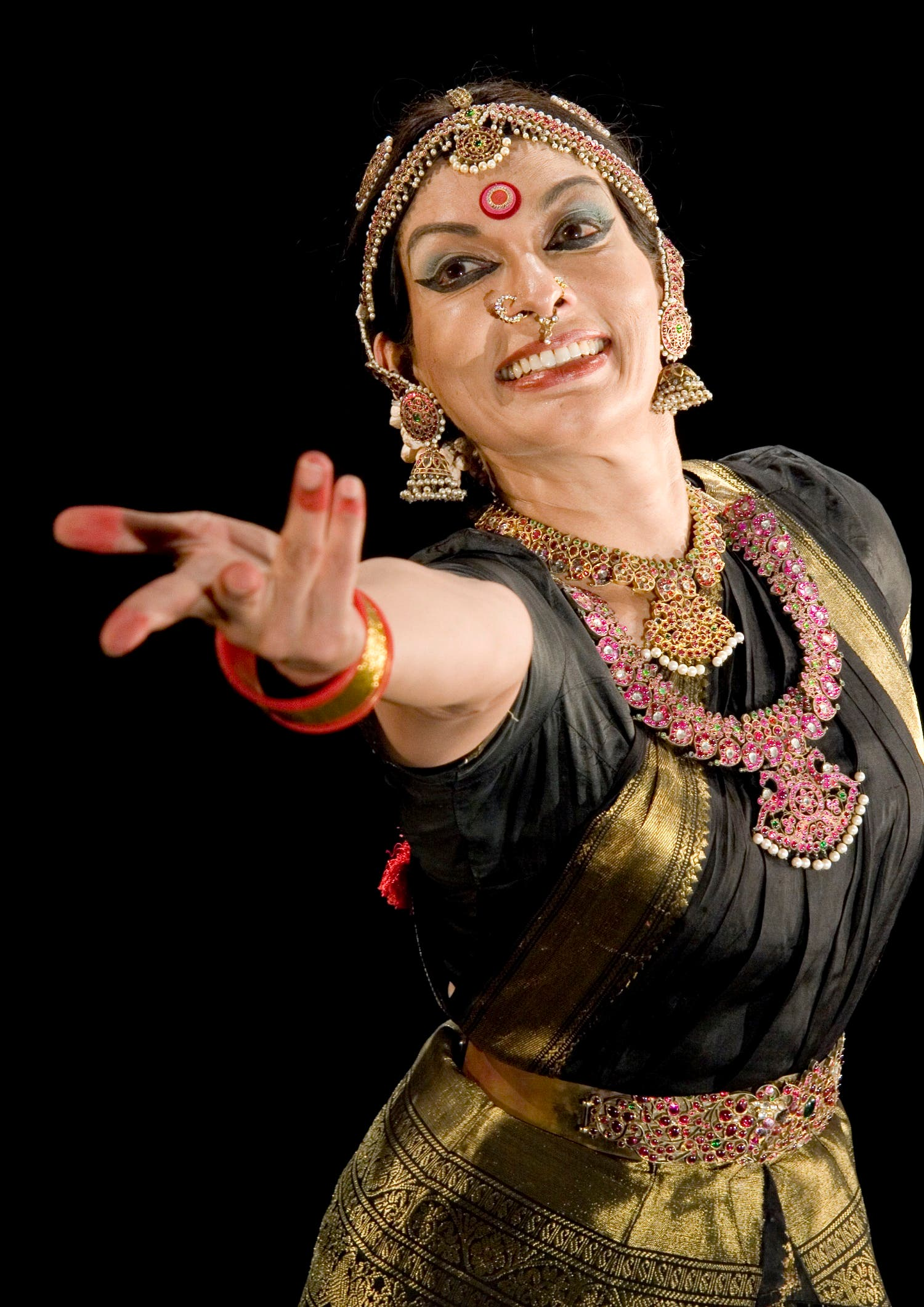 Top-drawer classical dancer Mallika Sarabhai says that marriage is not compatible with free-spirited, independent women. (Supplied)
