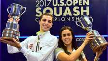 Egyptian couple dominate US Open Squash Championship with title wins each