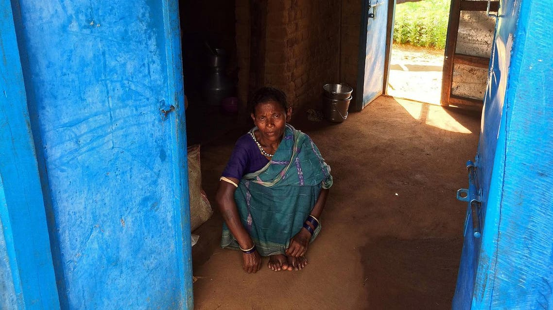 Rukmani Rajhansiya, rescued from debt bondage from a brick kiln in 2012, is seen at her home in Sargul village in the eastern Indian state of Odisha, August 31, 2016. Picture taken August 31, 2016. To match Feature INDIA-WORKERS/BONDAGE REUTERS/Anuradha Nagaraj