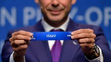 Italy to face Sweden in World Cup playoff