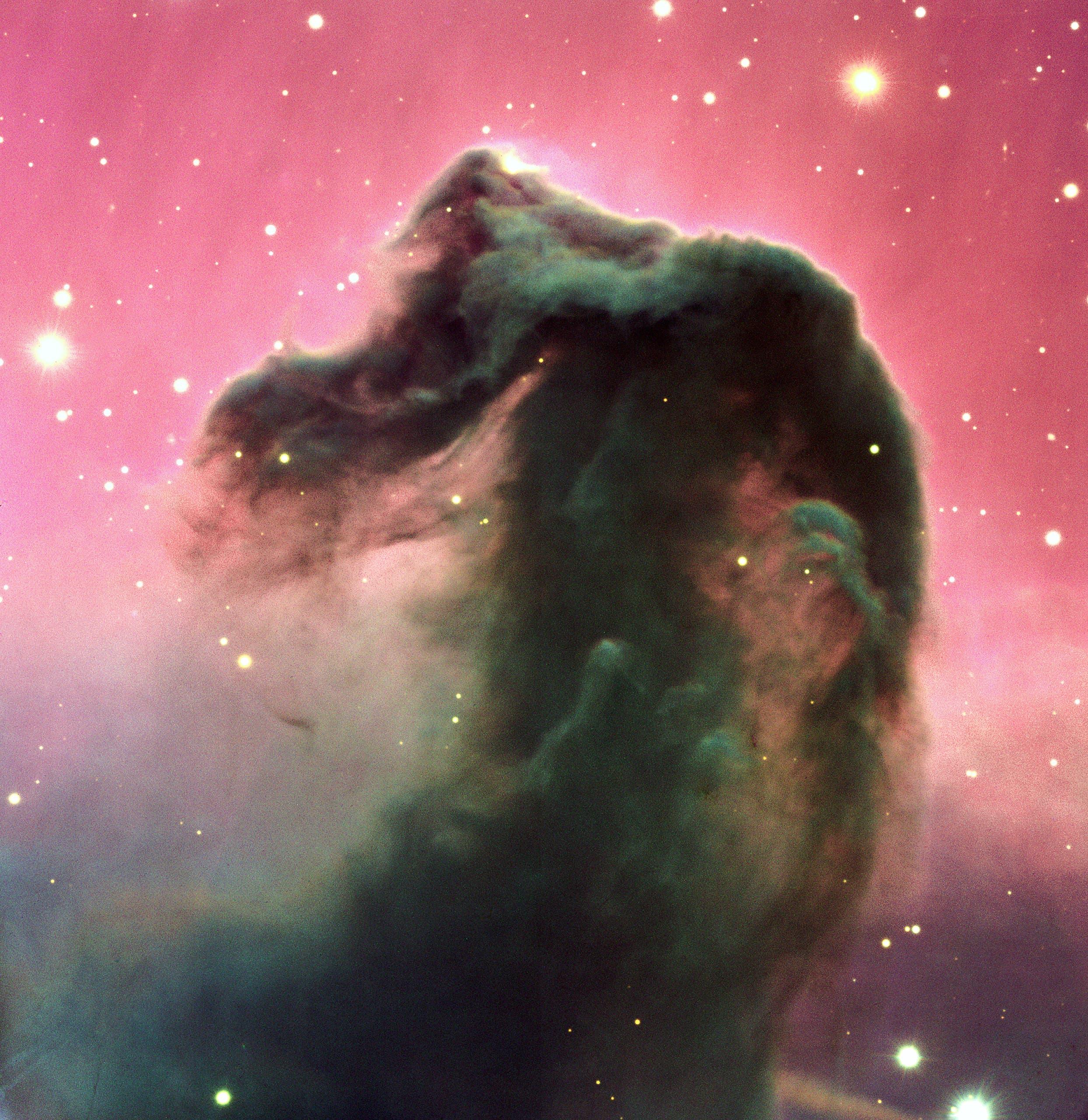 تصویر سحابی کله اسبی با استفاده از تلسکوپ رصدخانه جنوبی اروپا