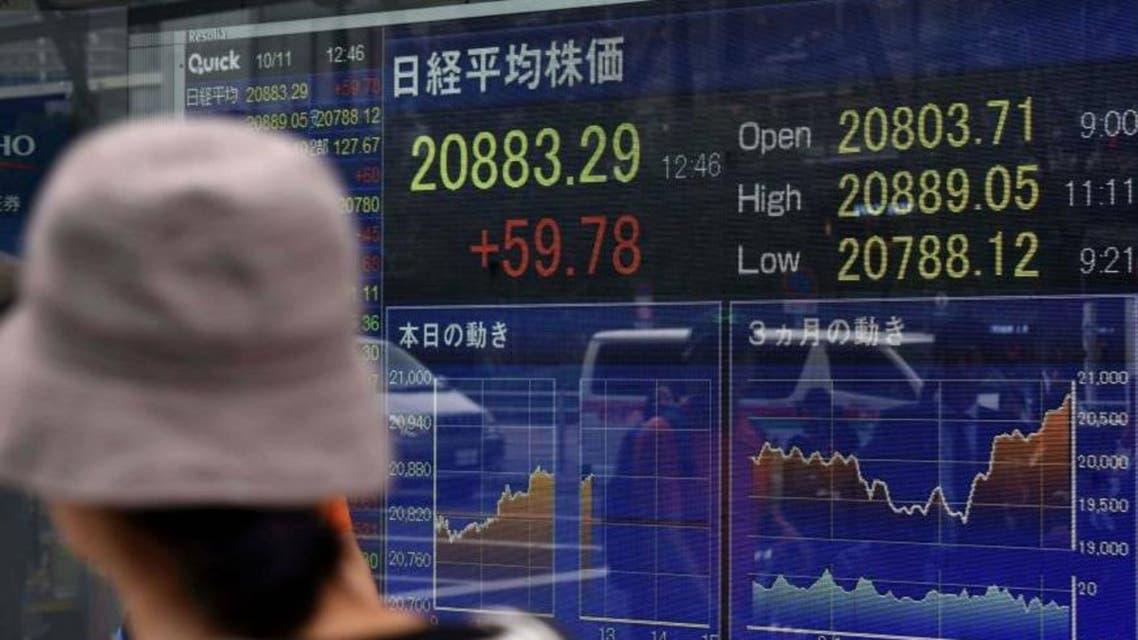 الأسهم اليابانية نيكاي بورصة طوكيو