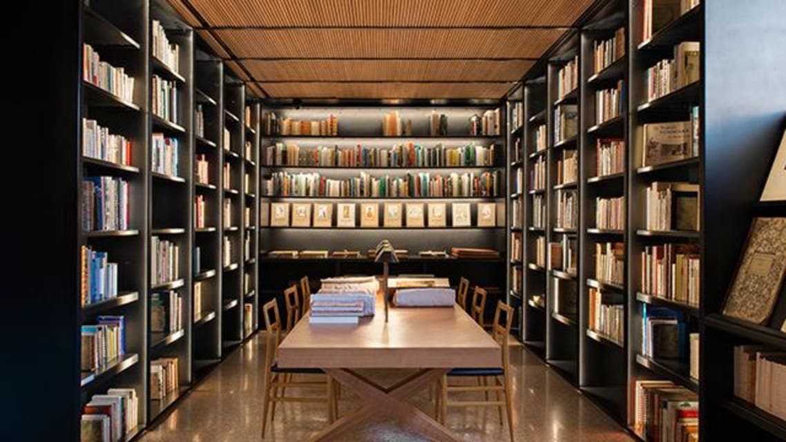 مكتبة المتحف