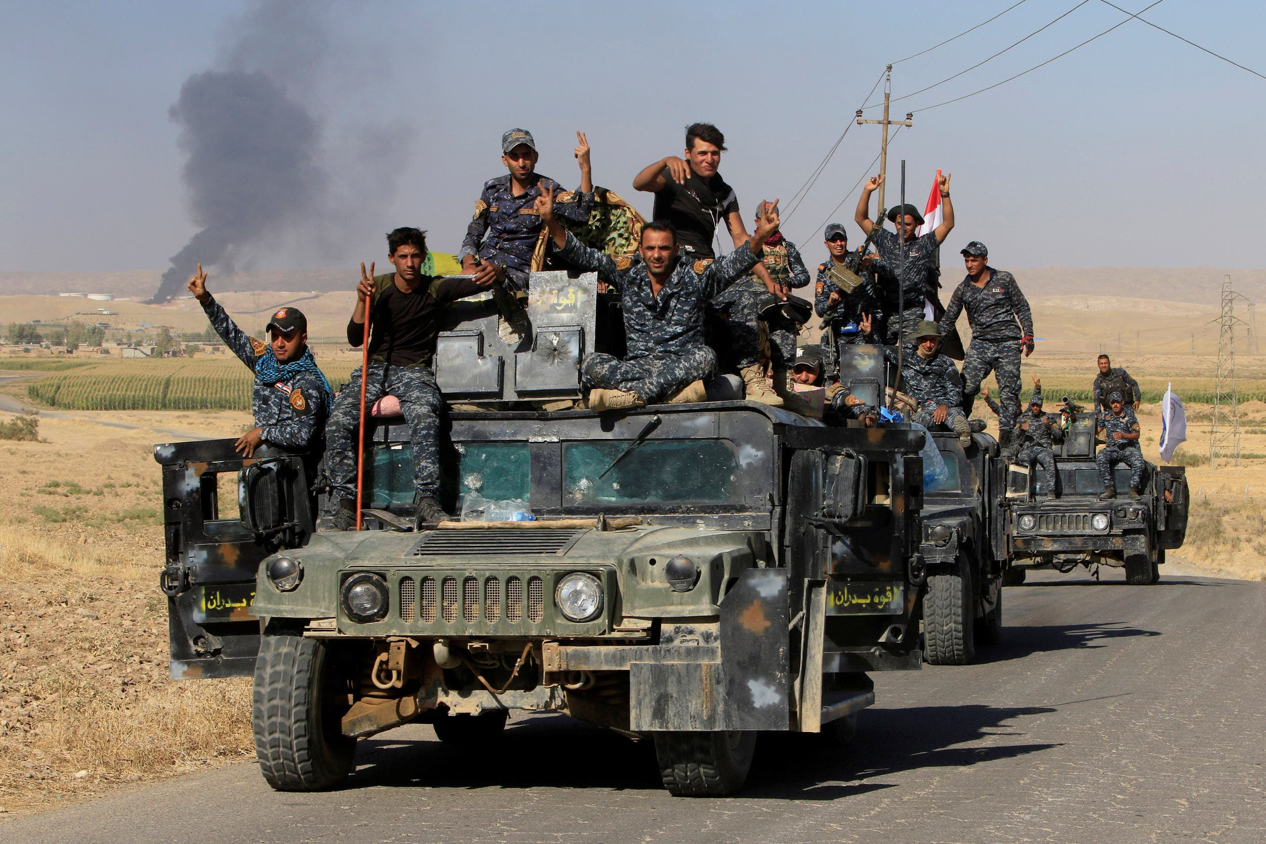 عناصر من القوات العراقية بكركوك