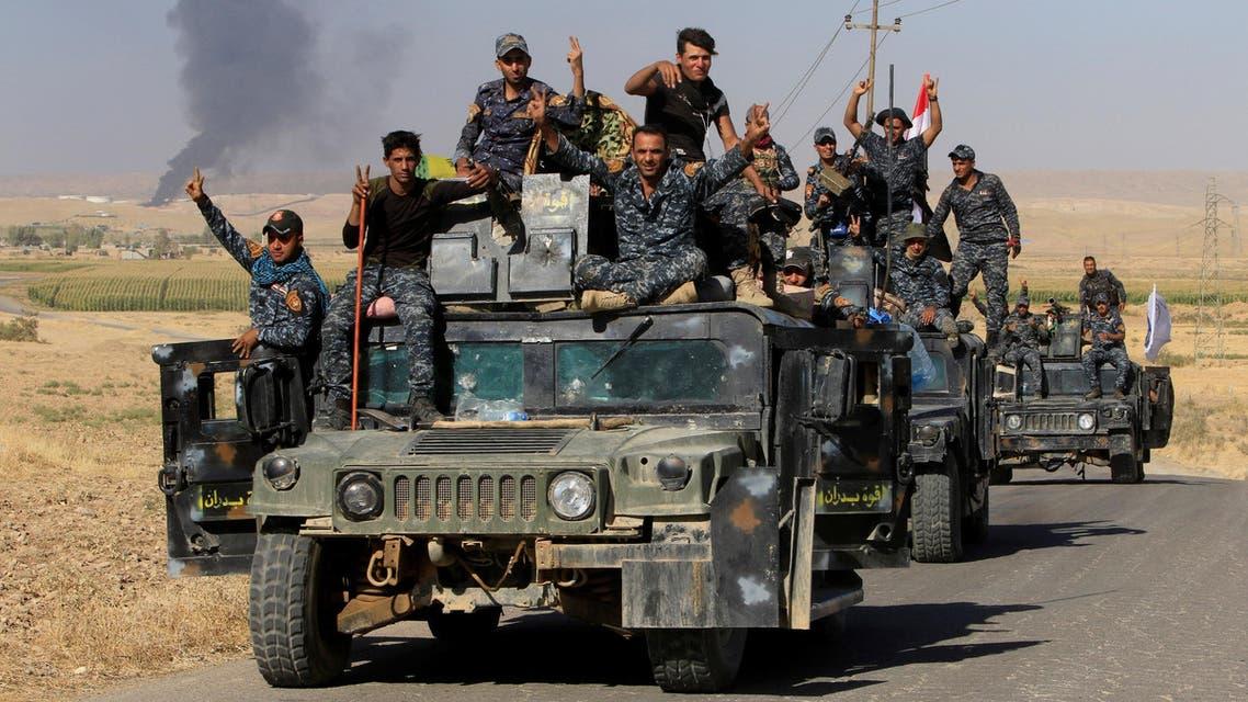 عناصر من القوات العراقية بكركوك 3